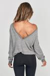 Joah Brown Get It Pullover - Grey Hacci