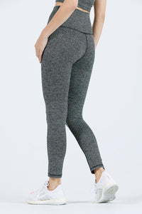 Joah Brown Second Skin Legging - Herringbone Black