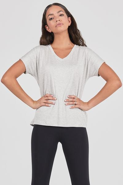 Joah Brown Sierra Tee- Pearl Grey