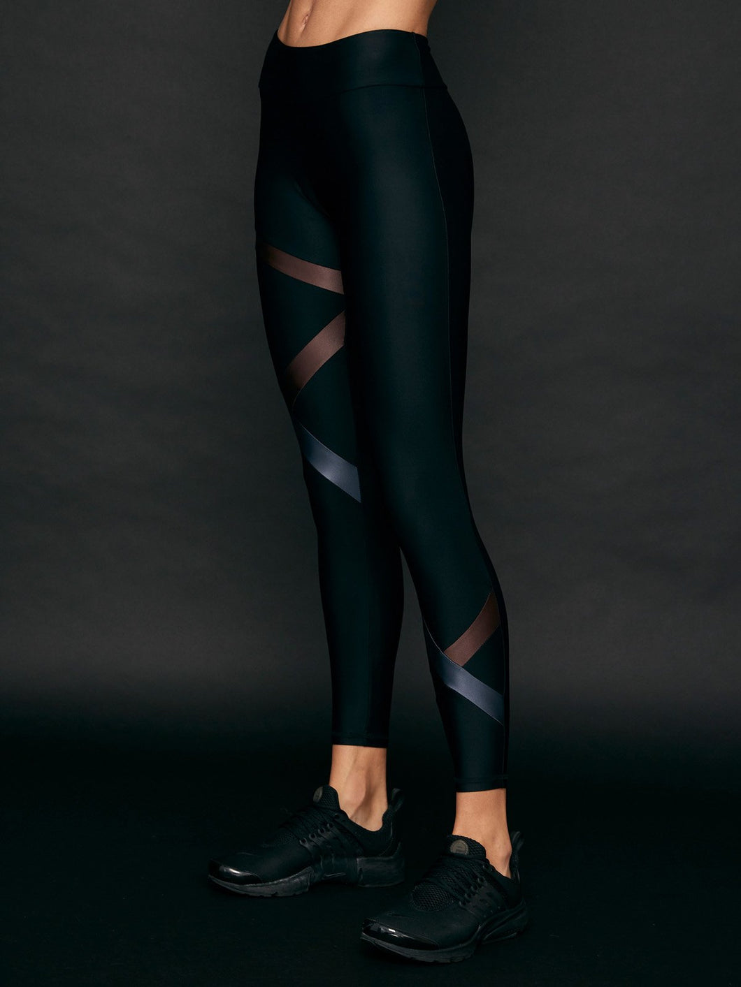 Lanston Sport Kai Band Legging - Metal