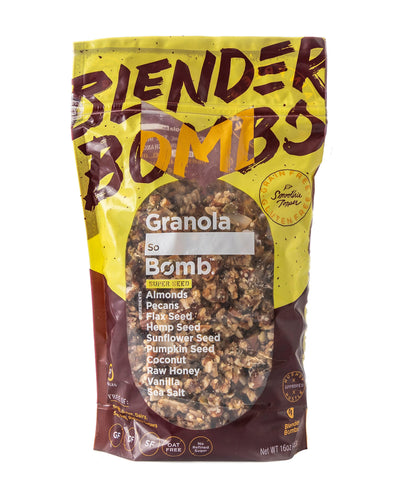 Blender Bombs Granola Bomb- Super Seed