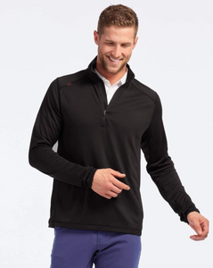 Rhone Sequoia Air 1/4 Zip-Black