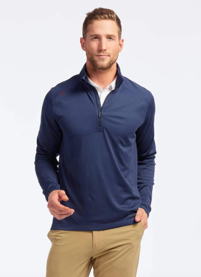 Rhone Sequoia Half Zip-Navy