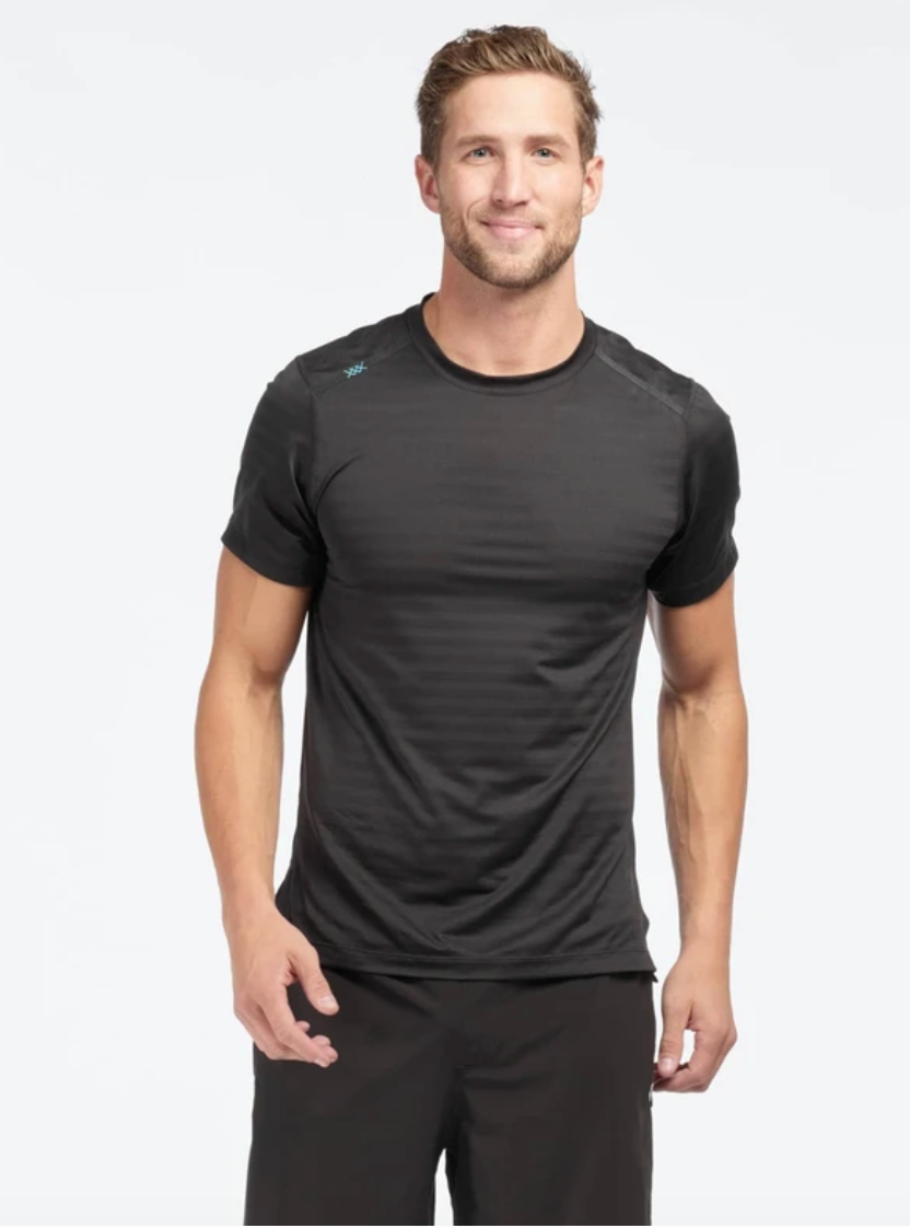 Rhone Sentry Short Sleeve- Black