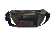 Load image into Gallery viewer, ANDI Bum Bag - Camo Gunmetal