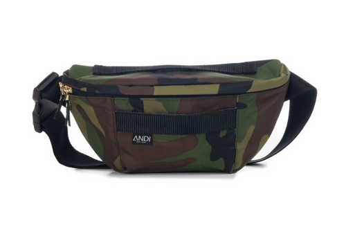 ANDI Bum Bag - Camo Gunmetal
