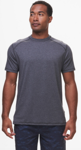 Tasc Carrollton T-Shirt- Black Heather