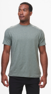 Tasc Carrollton T-Shirt- Kelp Heather
