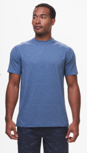Tasc Carrollton T-Shirt- Indigo Heather