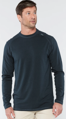 Tasc Carrollton Long Sleeve T-Shirt- Gunmetal