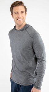 Tasc Carrollton Lightweight Hoodie - Black Heather