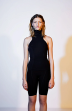 Load image into Gallery viewer, Vimmia Turtleneck Tank-Windsor Black