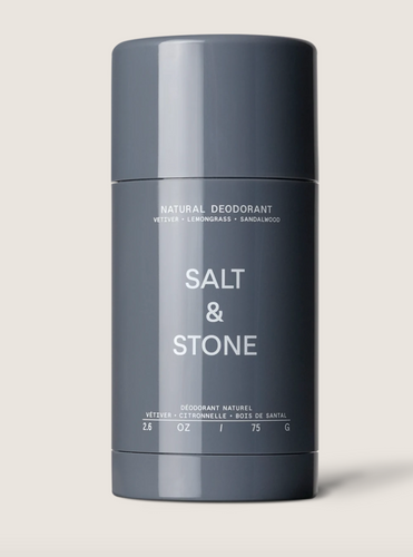 Salt & Stone Natural Deodorant - Vetiver, lemongrass, sandalwood