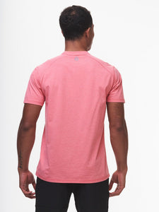 Tasc Carrollton T-Shirt- Red Coral Heather