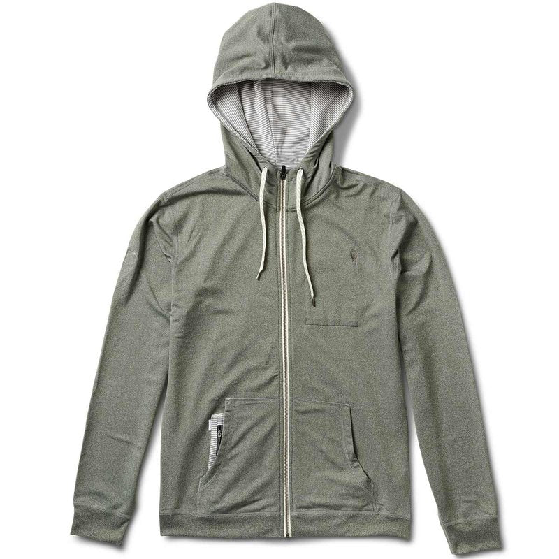Vuori Movement Hoodie - Heather Olive