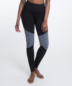 Climawear Leonie Legging - Black and White Marble