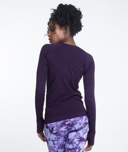 Climawear Yasmine Long Sleeve - Purple