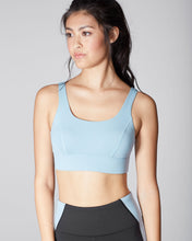 Load image into Gallery viewer, MICHI Wave Bra - Sky Blue