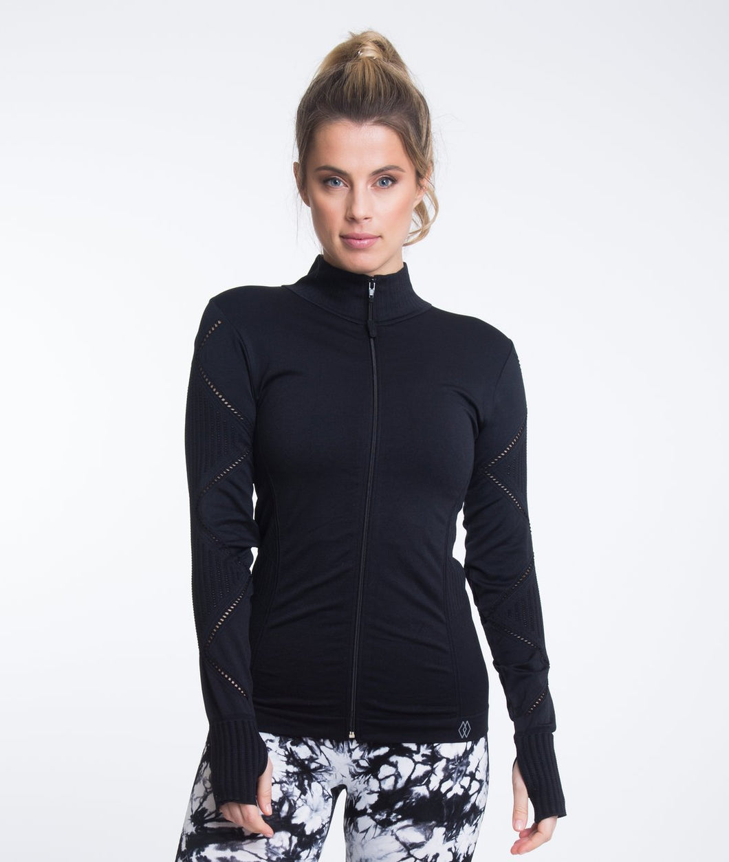 Climawear Amalia Zip Jacket- Black