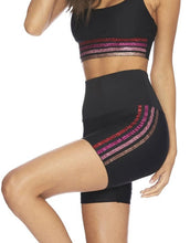 Load image into Gallery viewer, Beach Riot Bike Short Multi Stripe-Pink/Red