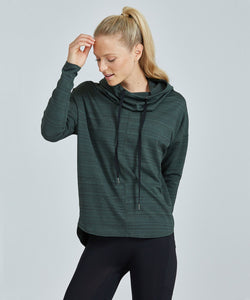 Prism Sport Inspo Hoodie - Green Jacquard