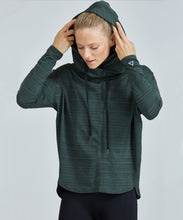 Load image into Gallery viewer, Prism Sport Inspo Hoodie - Green Jacquard
