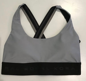 Koral Fame Energy Sports Bra- Ice Blue