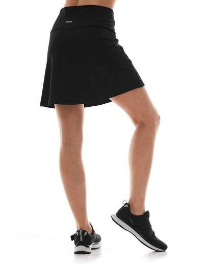 K-Deer Pocket Skort - Solid Black