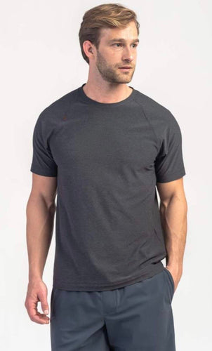 Rhone Reign Short Sleeve - Black Heather