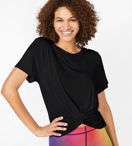 Terez Twist Front Short Sleeve