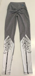 Yogavated Rooted Peak Legging (Trees)