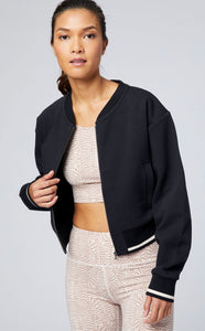 Varley Cole Bomber Jacket - Black