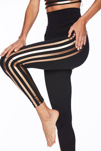 Beach Riot Jade Legging - Rose Gold