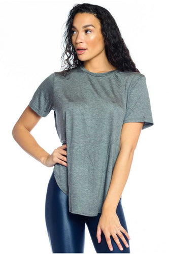 Joah Brown Live In Slouchy Tee - Grey