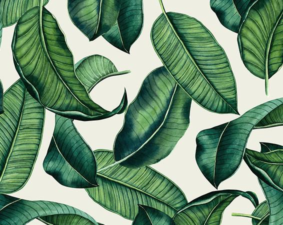 Sugar Mat - Whimsy Tropic Leaf