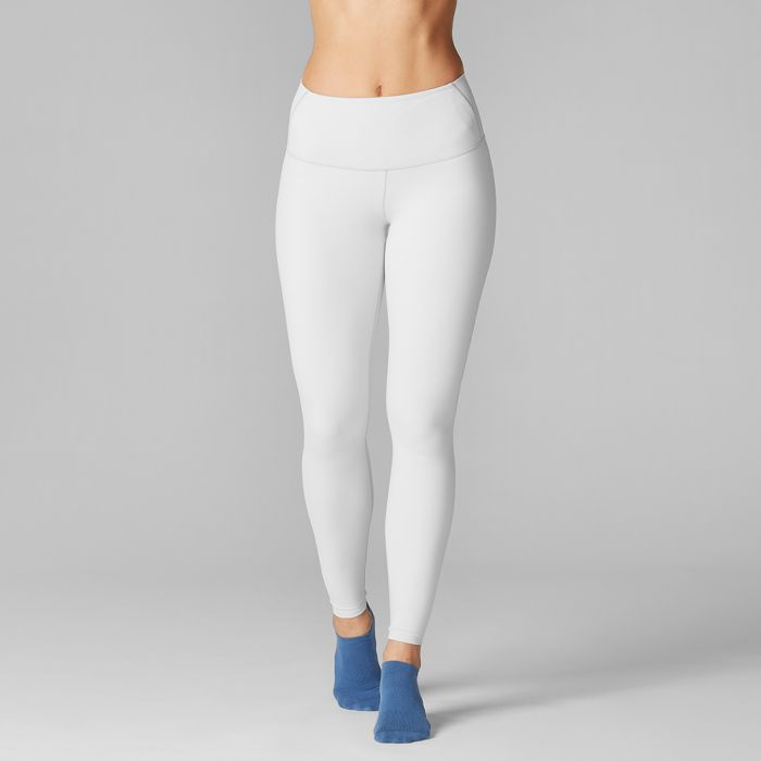 Tavi Noir High Waisted Legging - Light Grey