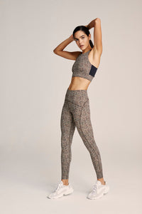 Varley Meadow Legging- Classic Leopard