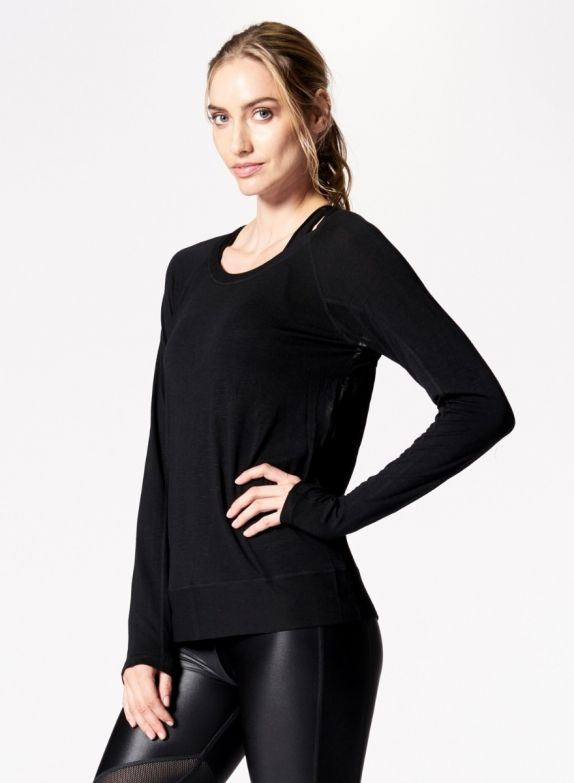 Nux Madison Pullover - Black