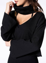 Load image into Gallery viewer, Nux Open Up Sweatshirt - Black
