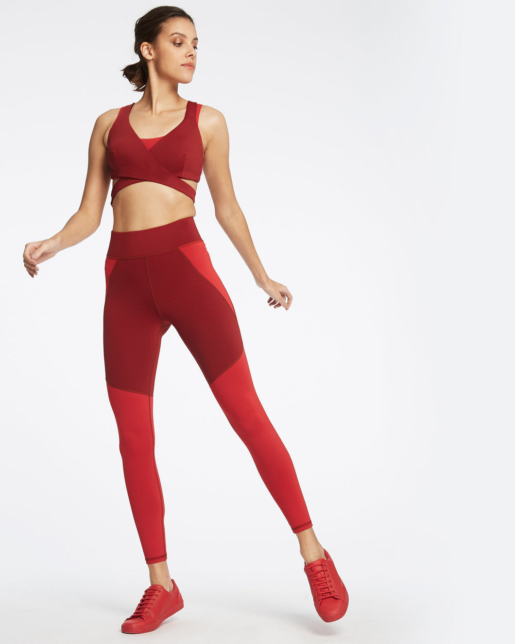 MICHI Tidal Legging - Fire Red