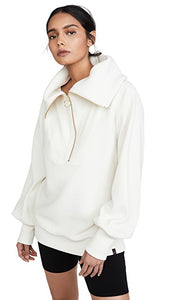 Varley Vine Half Zip - Cotton