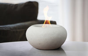 Stone Table Top Fire Bowl