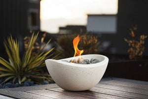 Wave Table Top Fire Bowl