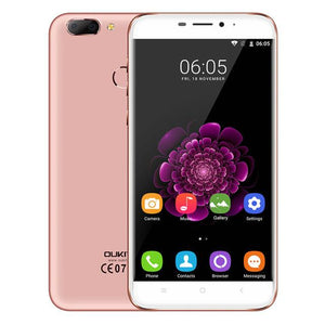 Oukitel U20 Plus Smartphone 5.5inch IPS FHD MTK6737T Quad Core 13MP Dual Lens Back Camera 2GB + 16GB Android 7.0 4G Mobile phone