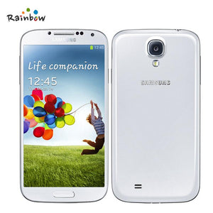 Original Factory Unlocked Samsung GALAXY S4 I9505 4G LTE Android 5.0 Cell Phone with Multi Language 2600mAh Detachable Battery