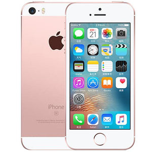 Apple iPhone SE Dual Core Cell Phones 12MP iOS Fingerprint Touch ID  2GB RAM 16/64GB ROM 4G LTE Refurbished iPhone se