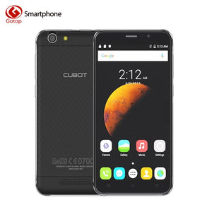 Original Cubot Dinosaur 5.5 Inch HD Screen Smart Phone 3GB RAM 16GB ROM Cell Phone Android 6.0 MT6735A Quad Core Mobile Phone