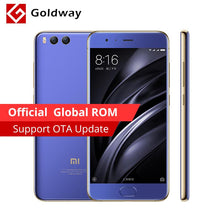 "Global ROM Original Xiaomi Mi6 Mi 6 Mobile Phone 4GB RAM 64GB ROM Snapdragon 835 Octa Core 5.15"" 12MP Dual Camera Fingerprint"