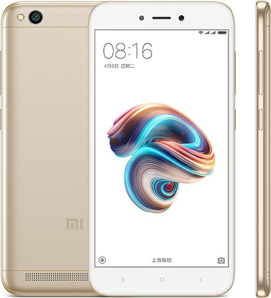 Global Version Original Xiaomi Redmi 5A 5 A 2GB RAM 16GB ROM Mobile Phone Snapdragon 425 Quad Core 5.0