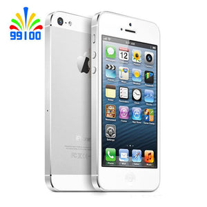 "Original  Apple iPhone 5 Unlocked Mobile Phone iOS Dual-core 4.0"" 8MP Camera WIFI GPS  Used Phone"